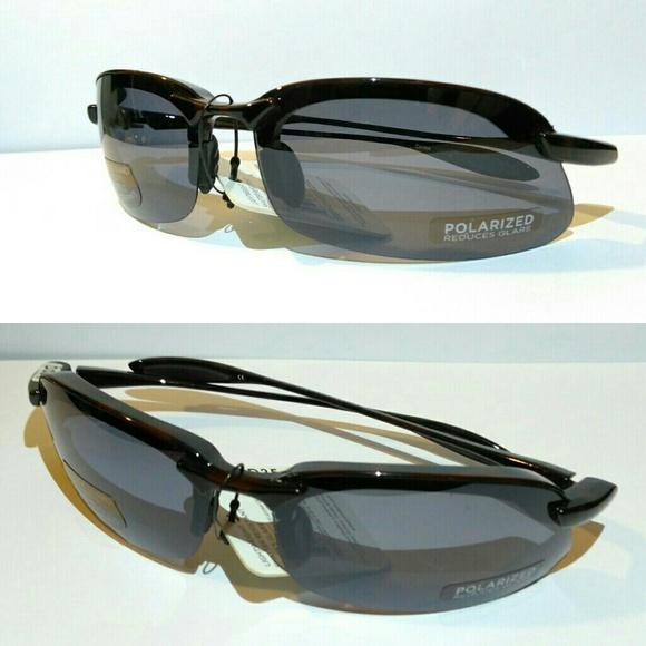 c1e62017026 Solar Comfort Polarized Half Rim Sport Sunglasses